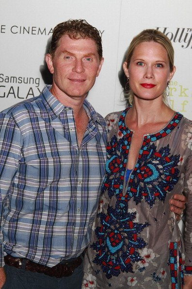 Bobby Flay and Stephanie March on September 2, 2012 in East Hampton, New York. | Photo: Getty Images