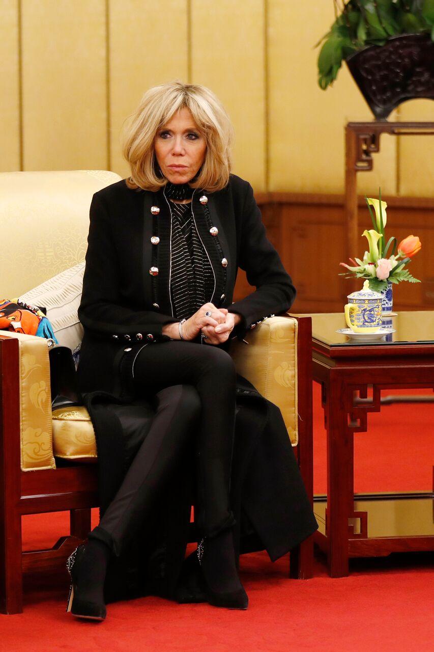 source : Brigitte Macron  | Photos : GettyImages