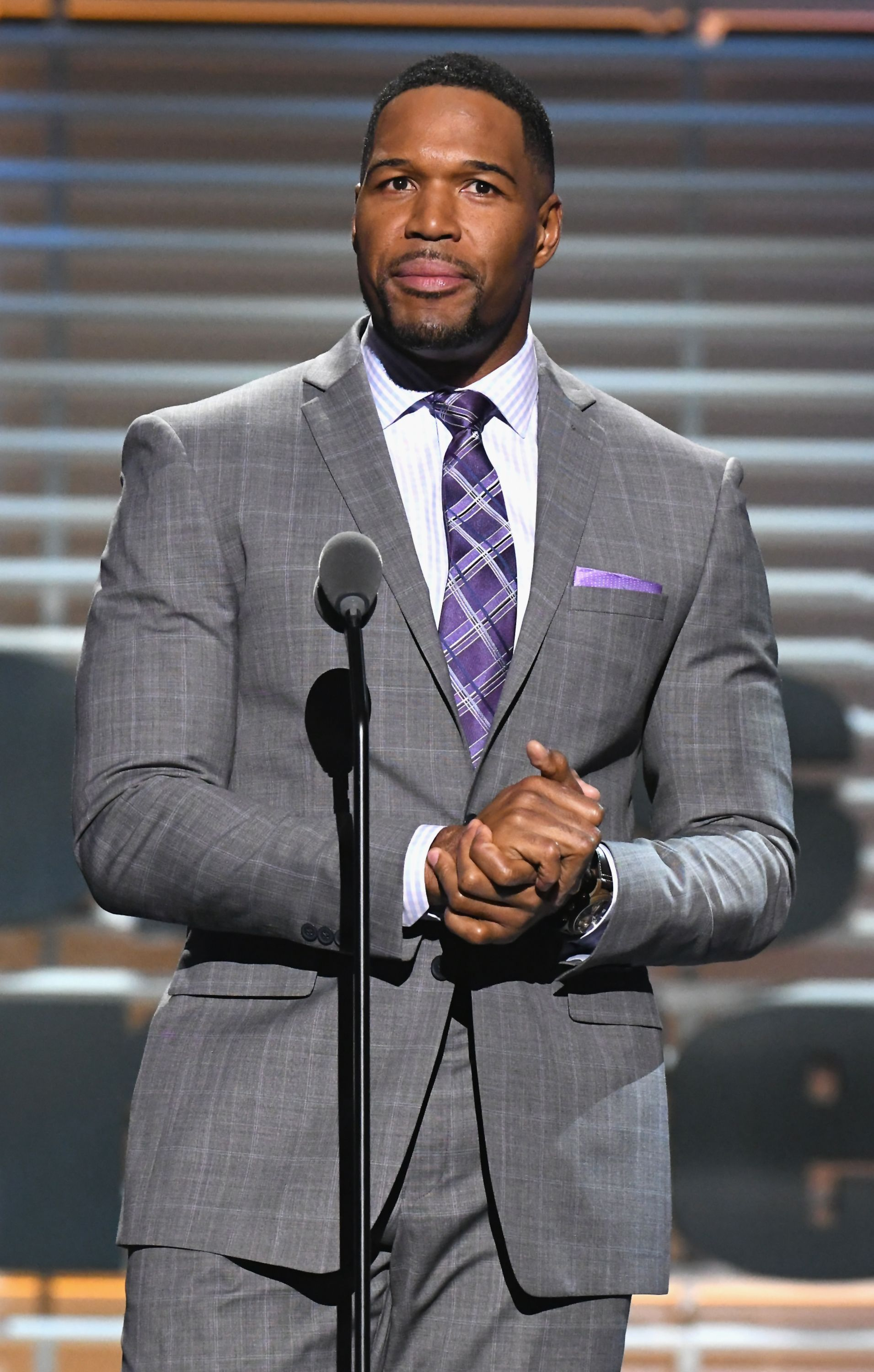 Michael Strahan at the Sports Illustrated 2017 Sportsperson of the Year Show on December 5, 2017  | Photo: Getty Images