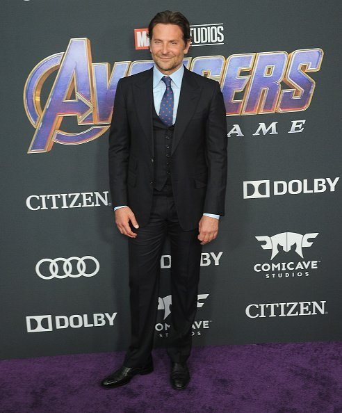 "Bradley Cooper arrives for the World Premiere Of Walt Disney Studios Motion Pictures ""Avengers: Endgame"" held at Los Angeles Convention Center on April 22, 2019 