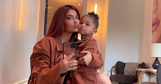 Kylie Jenner's Daughter Stormi Melts Hearts in a Beautiful Yellow Dress Posing with Chicago