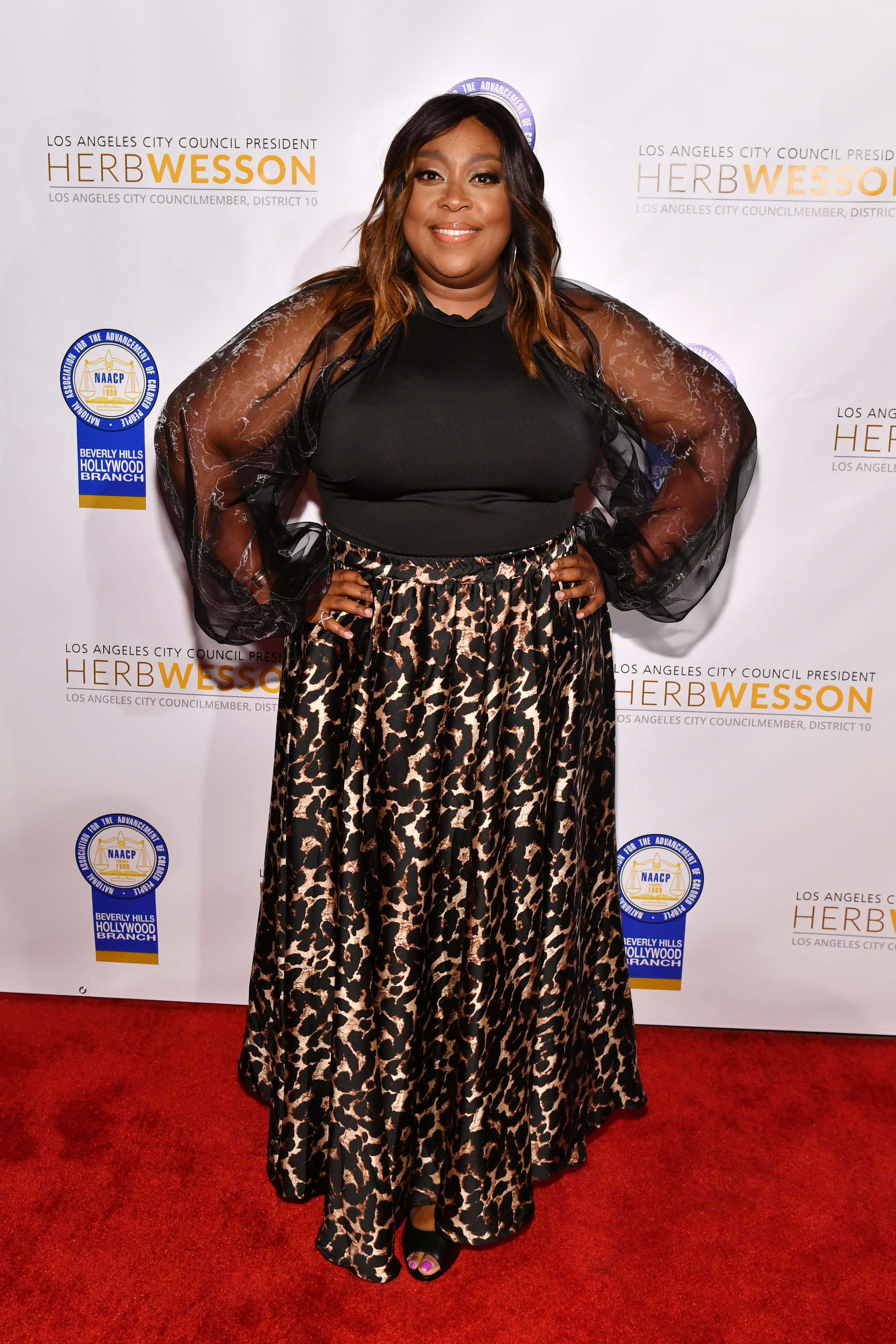 Loni Love attends the 28th Annual NAACP Theatre Awards at Millennium Biltmore Hotel on June 17, 2019| Photo: Getty Images