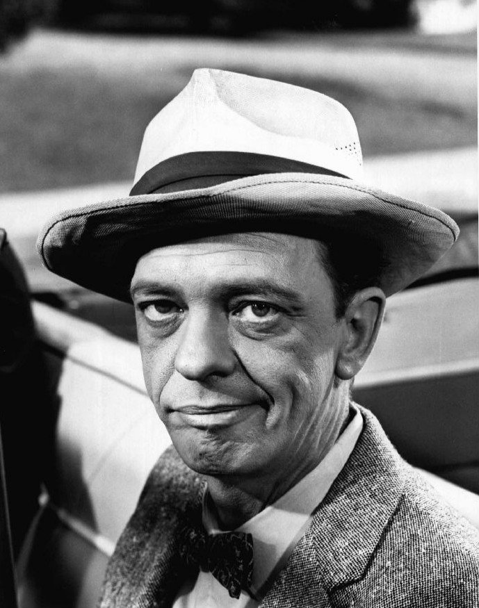 "Photo of Don Knotts as Barney Fife from ""The Andy Griffith Show."" 