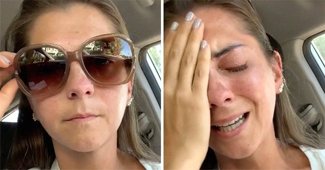 Woman who claimed to be denied service at Dunkin' because of her disability. | Photo: tiktok.com/shannon_heroux