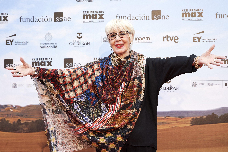 Concha Velasco asiste a los premios MAX 2019 en el Teatro Calderón el 20 de mayo de 2019 en Valladolid, España || Fuente: Getty Images