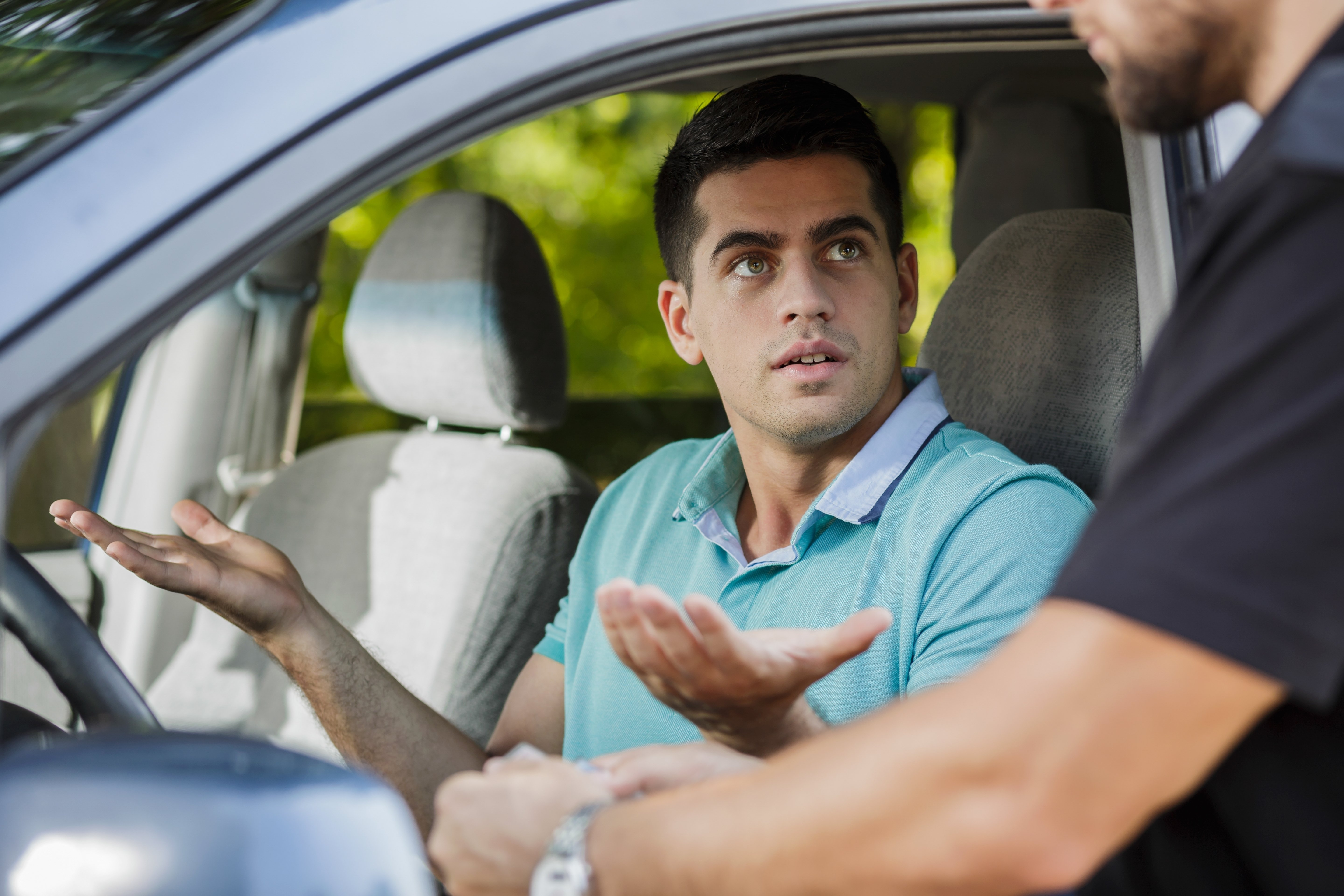 The young man wondered what he had done wrong. | Photo: Shutterstock