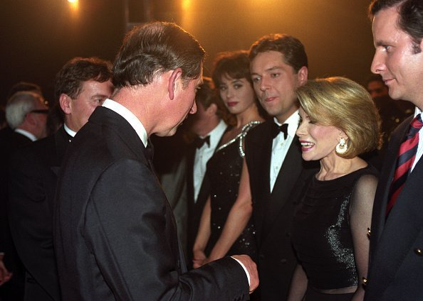 Prince Charles meets with Joan Rivers | Image: Getty Images