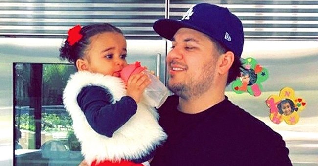 Rob Kardashian's Daughter Dream Melts Hearts with Her Brown Eyes in Photo Shared by Mom Blac Chyna