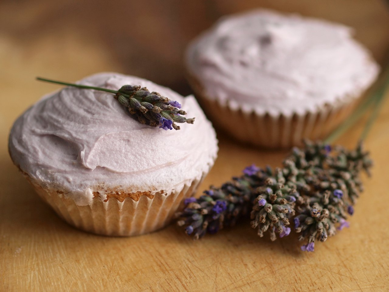 Lavender infused cupcakes | Photo By hozinja/Flickr