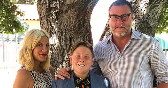 Tori Spelling's Oldest Child Liam Graduates Elementary School (Photos)