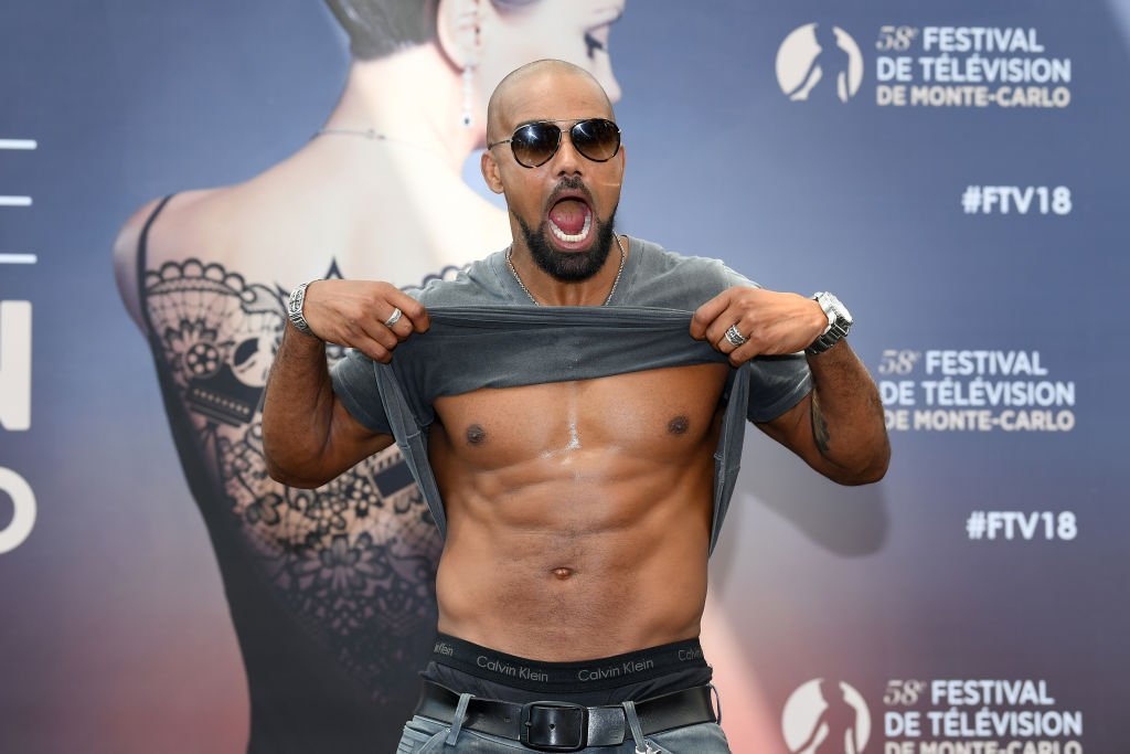 Shemar Moore showed off his abs while attending the 58th Monte Carlo Television Festival in Monica on June 17, 2018 | Photo: Getty Images