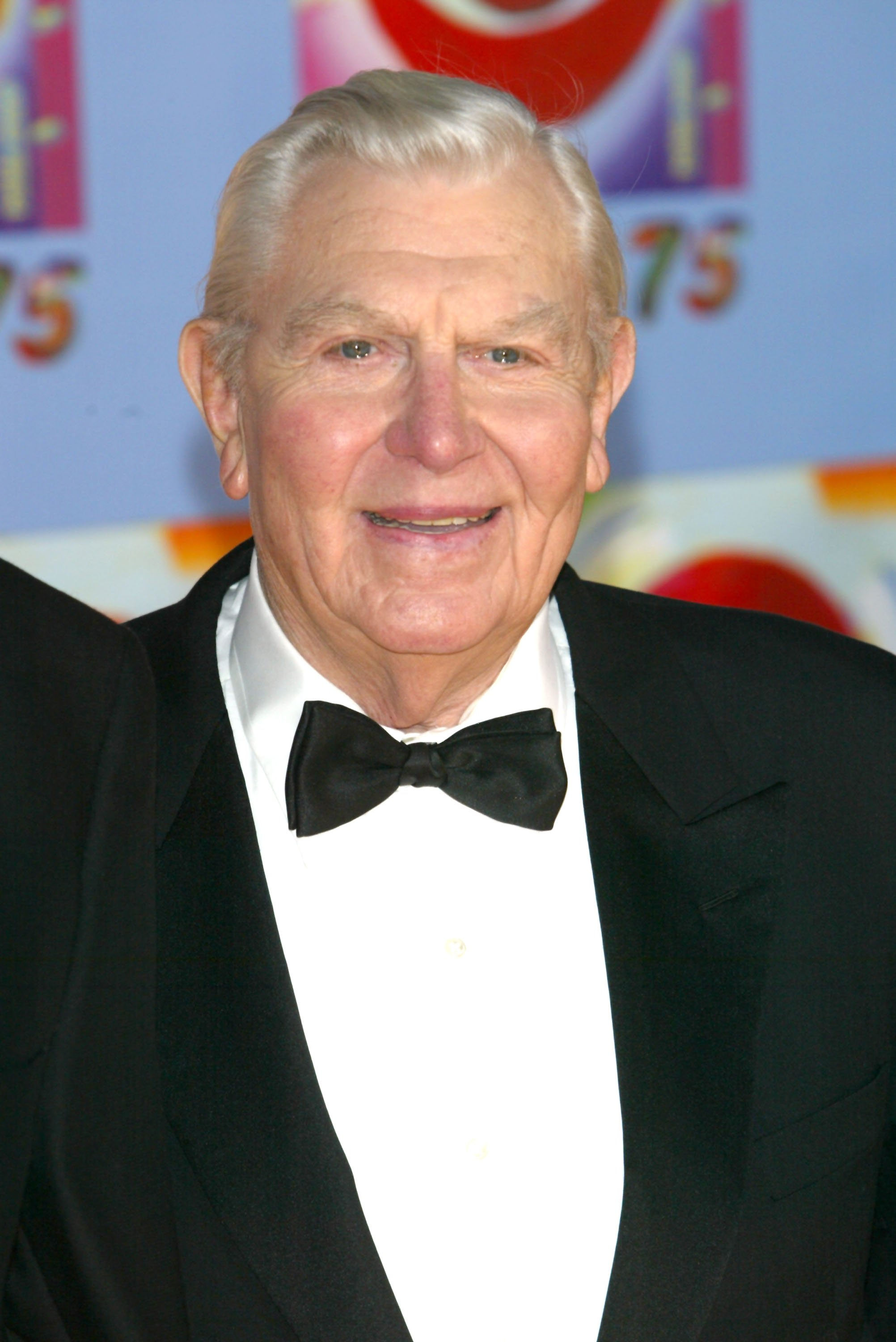 """Andy Griffith arrives at the """"CBS At 75"""" celebration November 2, 2003 ,in New York City. 