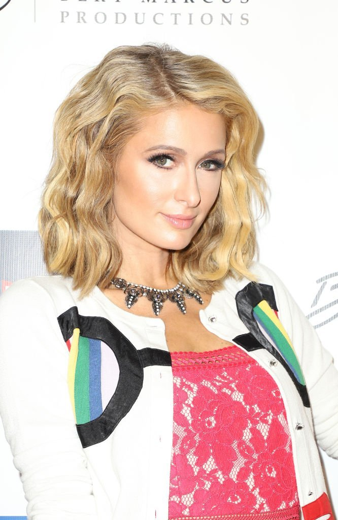 """Paris Hilton attends the """"What We Started"""" Premiere in Miami on March 22, 2018 