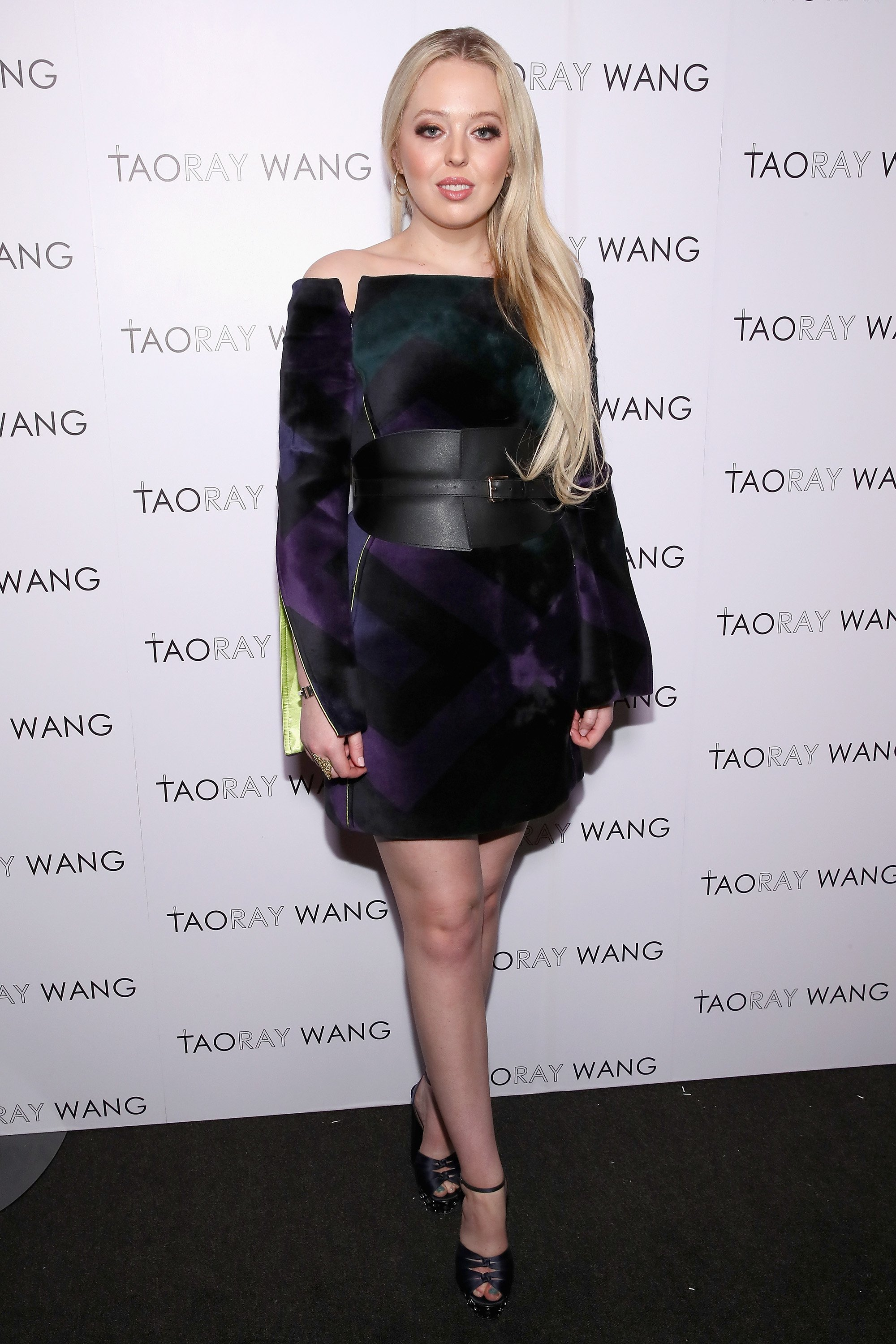 Tiffany Trump at the New York Fashion Week held at Spring Studios on February 9, 2019 in New York City   Photo: GettyImages