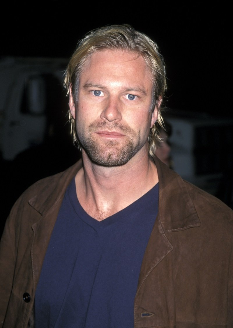 Aaron Eckhart on November 11, 1998 in Beverly Hills, California | Photo: Getty Images