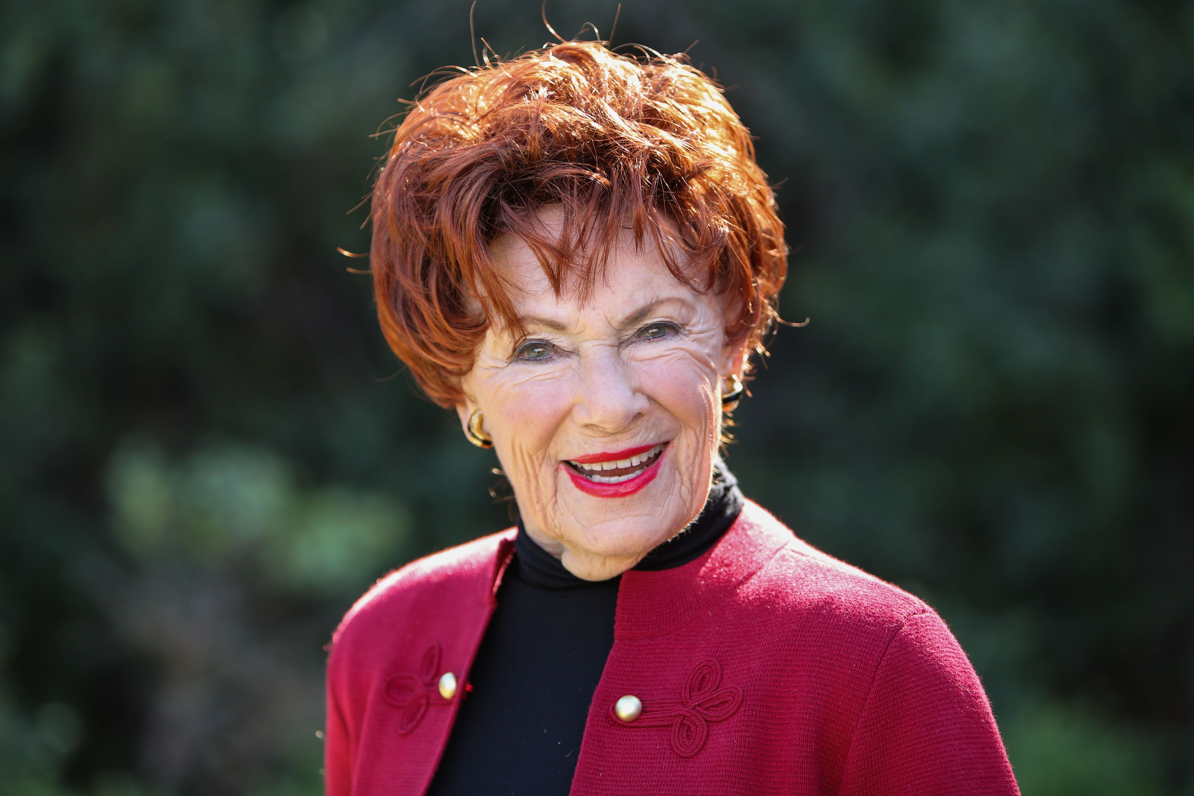 "Actress Marion Ross at Hallmark's ""Home & Family"" at Universal Studios Hollywood on January 23, 2019 in Universal City, California 