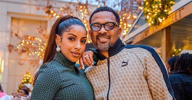 Mike Epps' Wife Kyra Flaunts Baby Bump & Braids in Recent Pic as She Prepares to Become a Mother