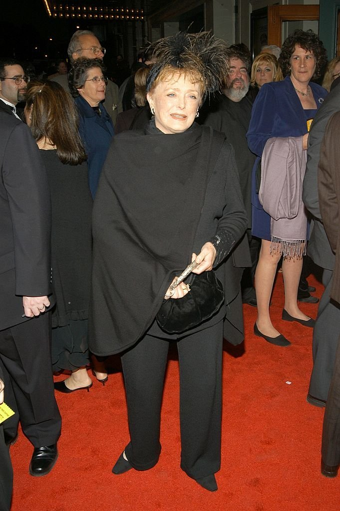 """Rue McClanahan at the Broadway revival of """"Little Shop of Horrors"""" 