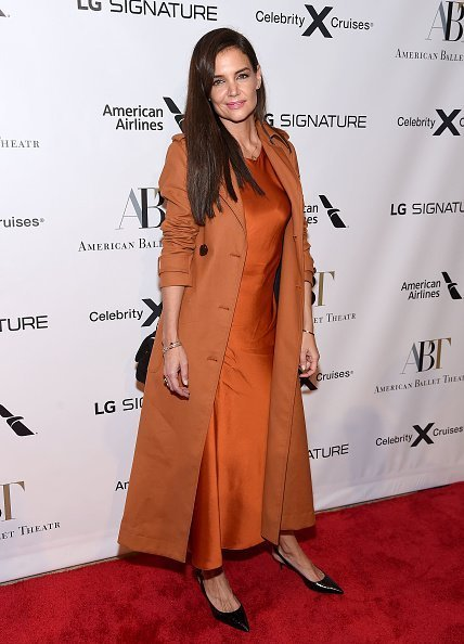 Katie Holmes attends the American Ballet Theatre 2019 Fall Gala on October 16, 2019 | Photo: Getty Images