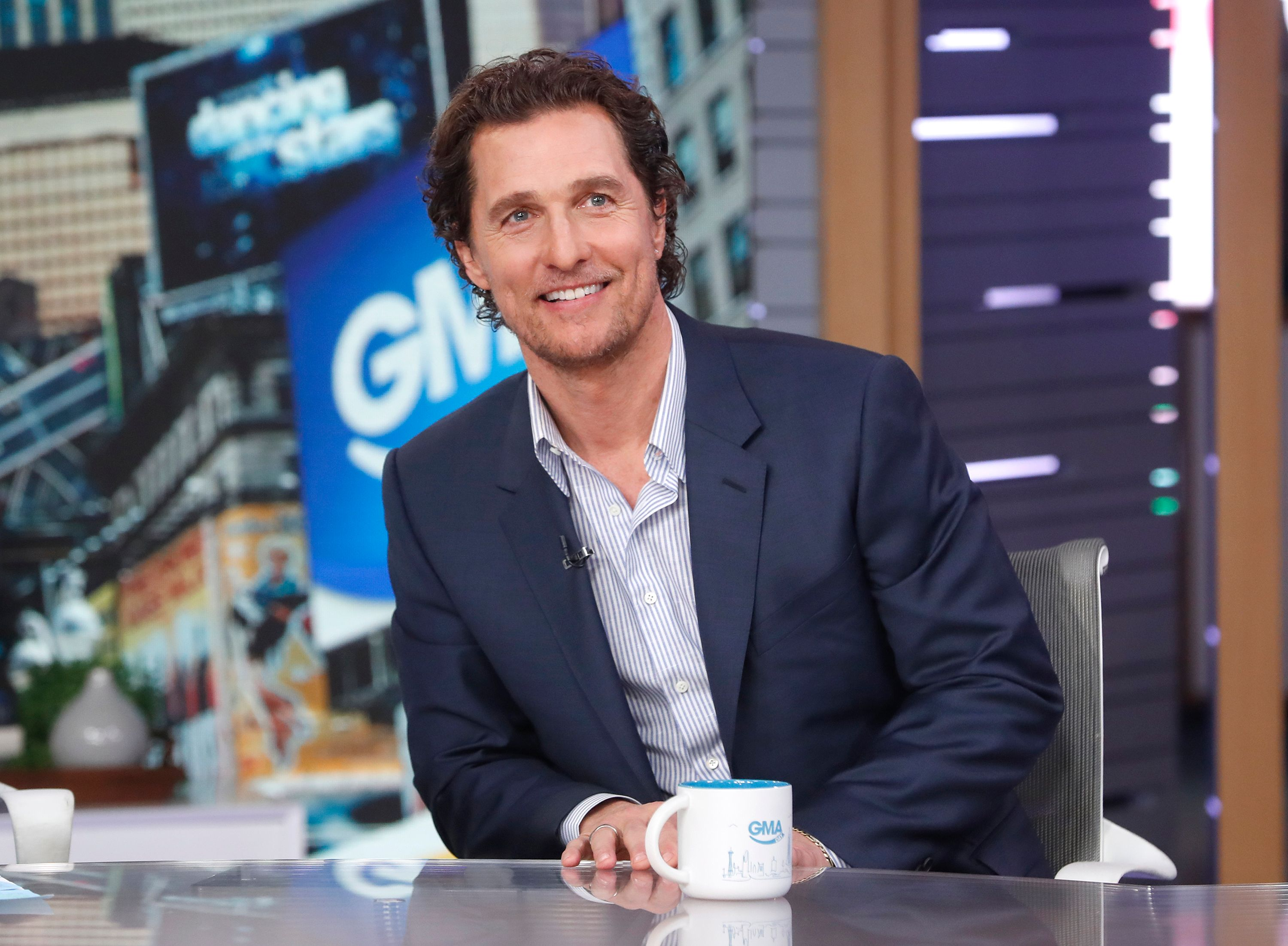 """Matthew McConaughey was a guest on """"GMA DAY,"""" on Thursday January 24, 2019   Photo: Getty Images"""