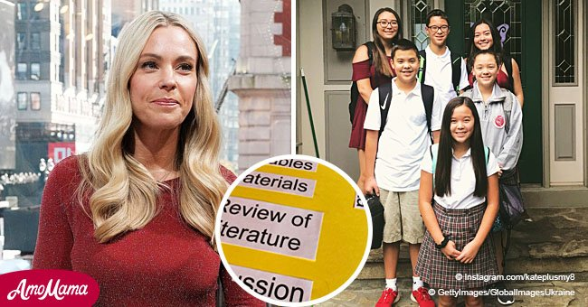 Kate Gosselin criticized by some people after posting update on her kids