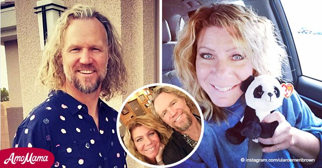 'Sister Wives' star Meri Brown shares a happy photo taken with husband Kody