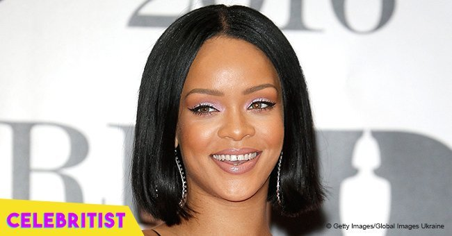 Rihanna shows off curves in green lace lingerie in recent picture
