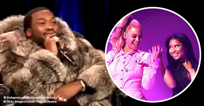 Meek Mill reveals hilarious story about awkward double date with Beyoncé, Jay-Z and Nicki Minaj