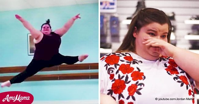 Teen was bullied for her size but she gets the last laugh when her video goes viral