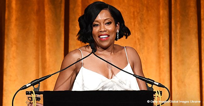 Regina King reveals a woman once predicted that she would run for President