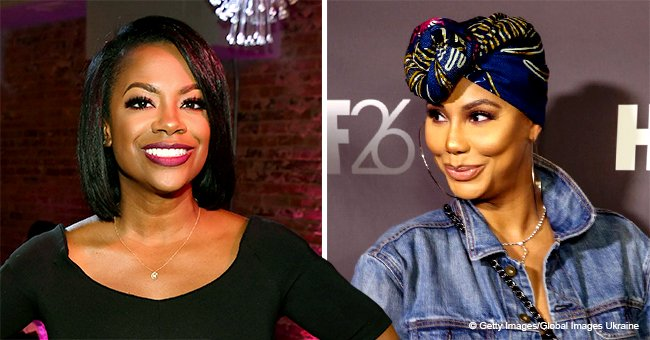 Kandi Burruss Sends Sweet Birthday Note to Tamar Braxton after Reportedly Reconciling on 'CBB'