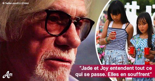 Pierre Billon révèle que Jade et Joy souffrent de la guerre dans laquelle elles doivent vivre