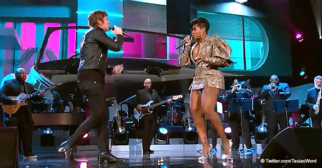 Fantasia & Rob Thomas Perform Lively Duet of Aretha Franklin's 'I Knew You Were Waiting (For Me)'