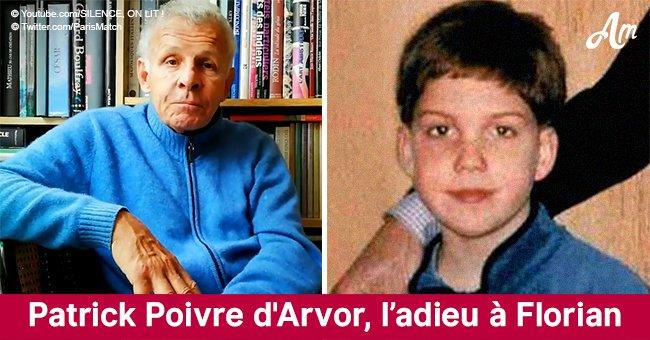 Les adieux de Patrick Poivre d'Arvor à Florian, le garçon qu'il a sauvé mais qui est mort par accident