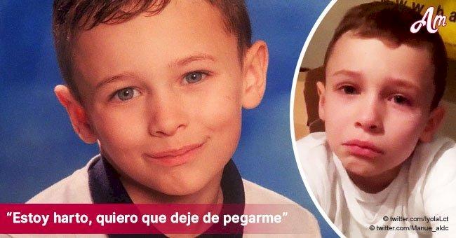 """""""Quiero irme con Dios y morir"""": las devastadoras palabras de un niño de 7 años víctima de bullying"""