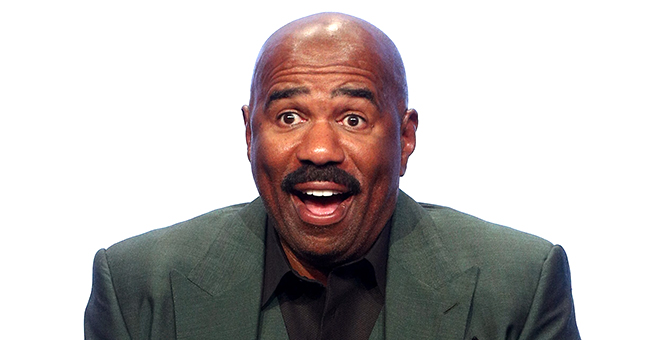 Steve Harvey Surprised with 'Family Feud' Theme Song While Dining with Family in France