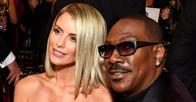Eddie Murphy's Fiancée Paige Butcher Stuns in Strapless Black Gown as They Attend The 2020 Golden Globes