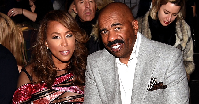 Steve Harvey Posts Sweet Message for Wife Marjorie on Her 55th Birthday