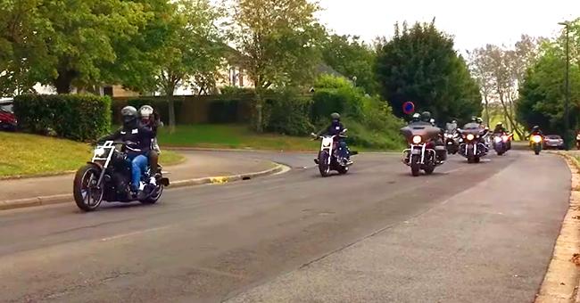 Abbeville : des motards soutiennent une collégienne harcelée et l'escorte jusque chez elle