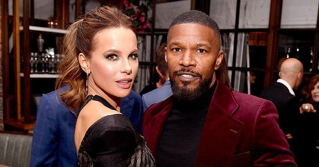Kate Beckinsale Responds to Romance Rumors after She Was Spotted with Jamie Foxx at HFPA's Golden Globes Ambassador Event