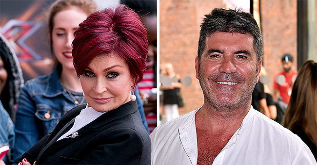 Sharon Osbourne Says AGT Judge Simon Cowell's Teeth Are 'Too White' but Praises Him for 20lbs Weight Loss