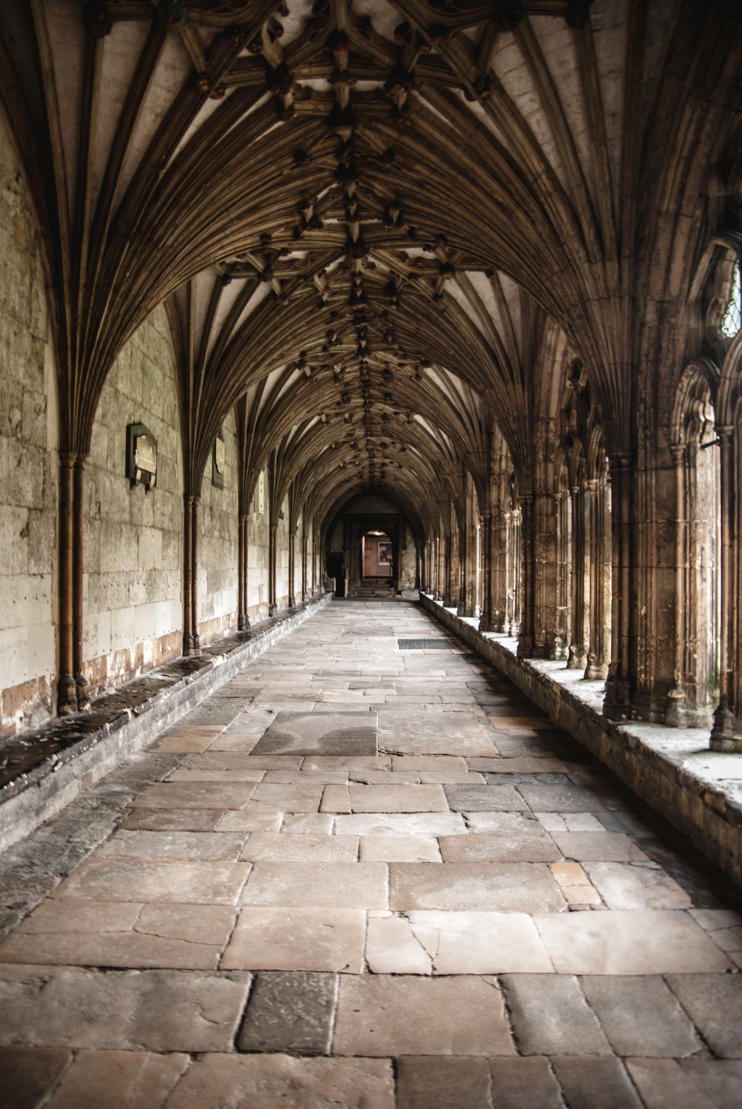 The monk led the stranger through a set of winding corridors in the monastery. | Photo: Pexels/Samuel Wölfl