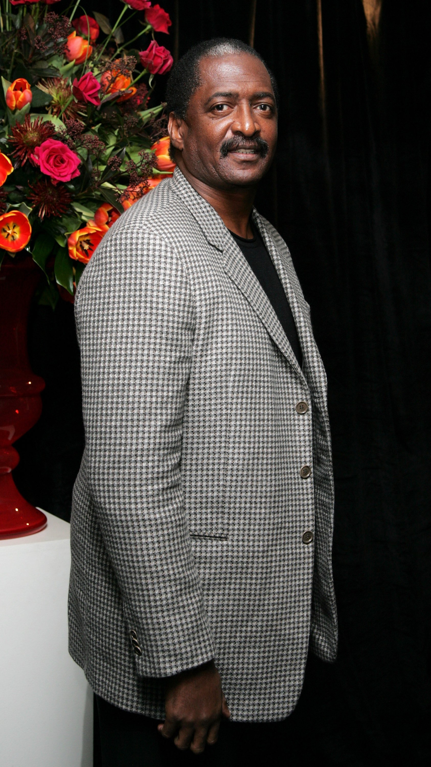 "Matthew Knowles, arrives at the after party following the UK premiere of ""Dreamgirls"" at the Hayward Gallery on January 21, 2007 