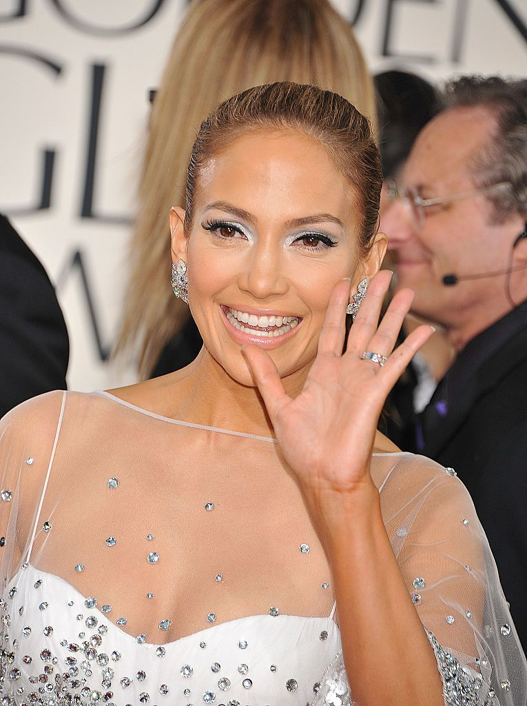 Jennifer Lopez at the 68th Golden Globe Awards on January 16, 2011, in Beverly Hills | Photo: Frank Trapper/Corbis/Getty Images