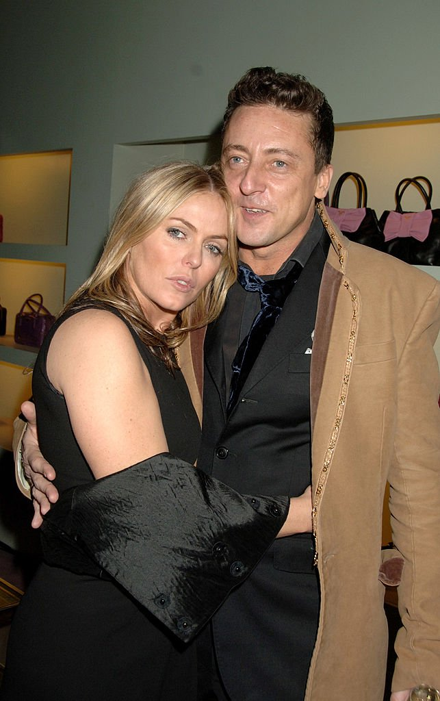 Patsy Kensit and Jeremy Healy attended Prada's christmas party on December 13, 2007 in London, England | Photo: Getty Images