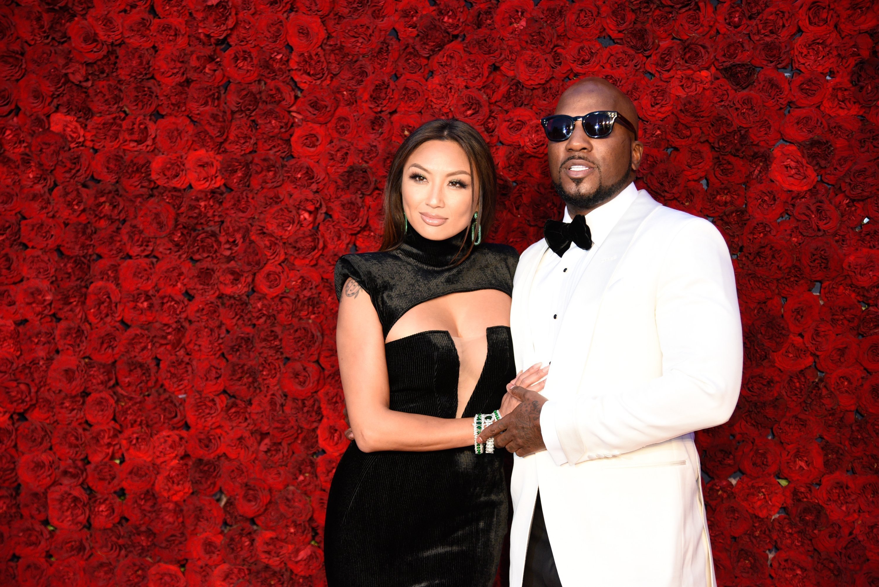 Jeannie Mai and Jeezy attend Tyler Perry Studios grand opening gala at Tyler Perry Studios| Photos: Getty Images