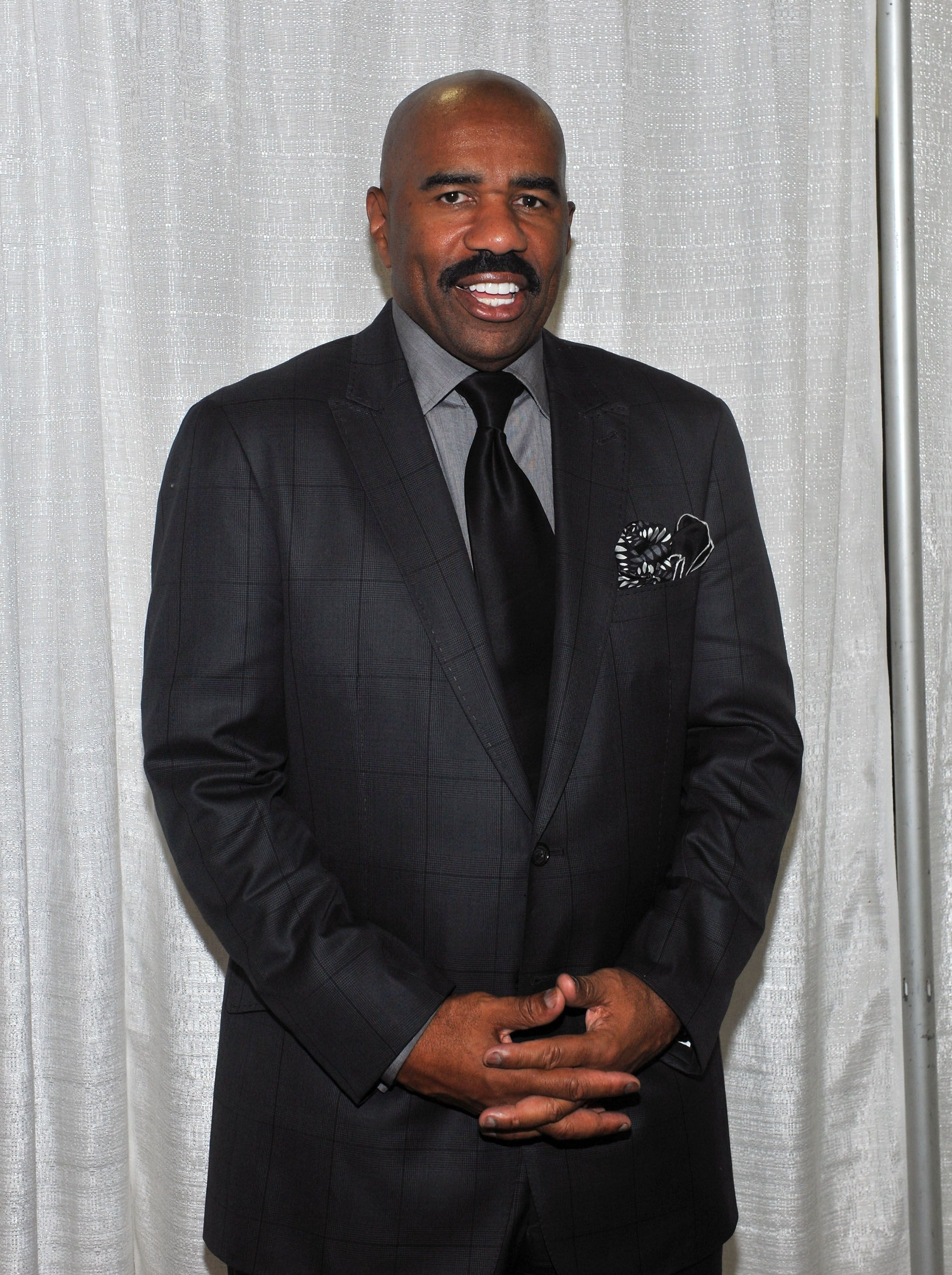 Steve Harvey at the Steve Harvey Mentoring Weekend on October 7, 2011 in New York. | Photo: Getty Images