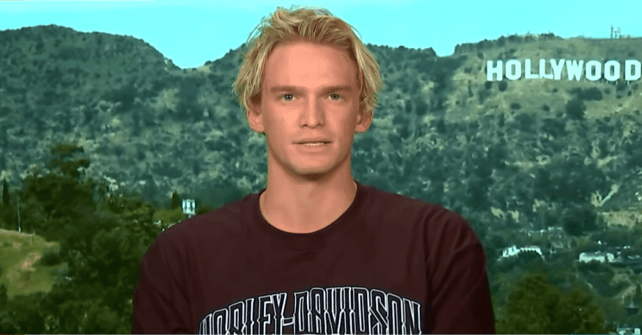 "Cody Simpson during an interview with ""Today"" show Australia in March 2020. 