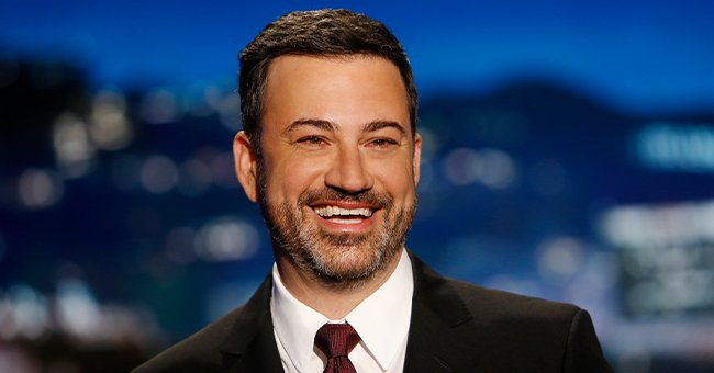 """An undated image of television host Jimmy Kimmel on ABC's """"Jimmy Kimmel Live!"""" show during season 15   Photo: Getty Images"""