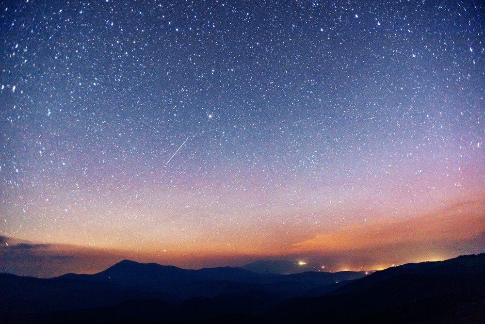 Lluvia de Meteoritos. Fuente: Shutterstock